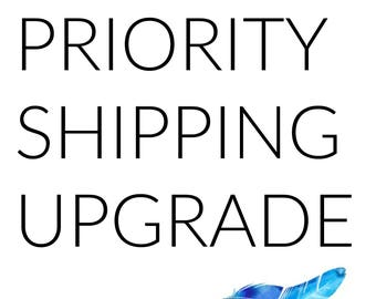 Priority Shipping Upgrade - US only