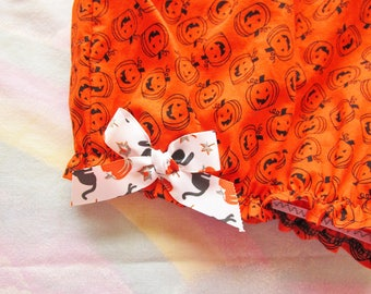 Halloween bloomers, pumpkin fairy kei pastel goth gothic lolita size small s drag queen clothing