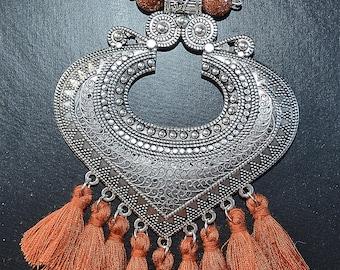 Tassel Shield Necklace