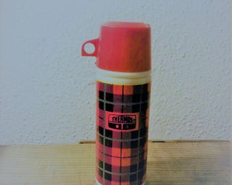 Vintage Avon Mini Thermos Perfume Decanter Almost Completely Full of Original Scent Sweet Honesty