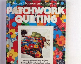Vintage Better Homes and Gardens Patchwork Quilting Book