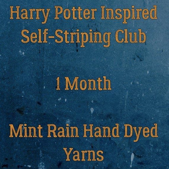 Harry Potter Inspired Self-Striping Club - 1 Month February