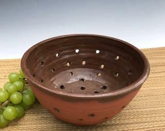Medieval Ceramic Colander, strainer, berry bowl