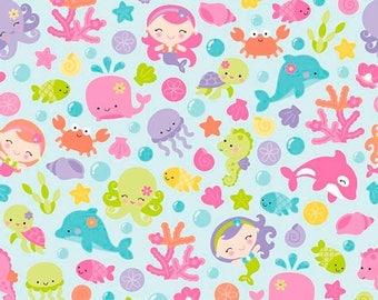 ON SALE Under The Sea By Doodlebug Design Aqua Main