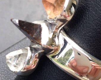 Topaz Crystal Ring