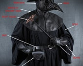 Plague Doctor costume size extra large