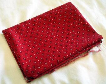 Fabric Destash – Posse Paisley by Michael Miller – Over 1/2 Yard, 100% Cotton
