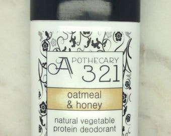 Oatmeal and Honey Scented Vegan Natural Deodorant