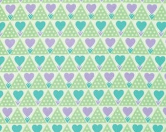 Anna Maria Horner FAAH018 Pretty Potent Family Unit Lavender Flannel Fabric By Yd