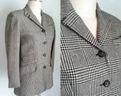 Verkauf---Vintage 1990er Jahre Ralph Lauren Houndstooth Jacket