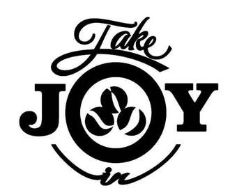 BACK to SCHOOL SALE Take Joy In Marbles Decal