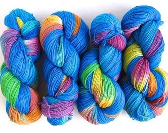 SALE Yarn: Innocent, 75/25 Superwash Merino/Nylon Fingering Weight Sock Yarn