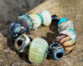 Lampwork Glass Beads Orphans Set