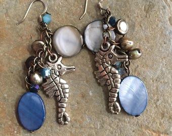 Seahorse Seashore Earring