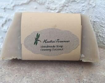 Handmade Creamy Coconut Soap