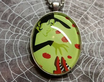 Wicked Witch Pendant Necklace