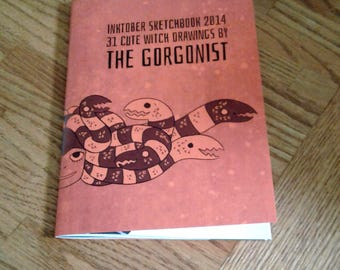 The Gorgonist Inktober Sketchbook vol 1