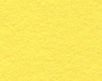 Banana Cream 20/80 Wool Blend Felt 12x18