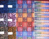 African cotton batiks RESERVED for Jghobrial