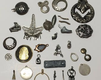 LOT of charms, bulk charms, mixed charms, shoe,Egyptian, symbols, charms DIY jewelry, Reindeer,ScrapSupplies