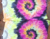 Lava Swirl Flow Veil Fans Pair 44 inches long left and right pair