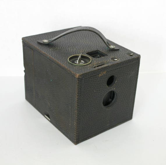 Antique Kodak No. 2 Bullet Model D Camera, Box Camera, Antique Photography