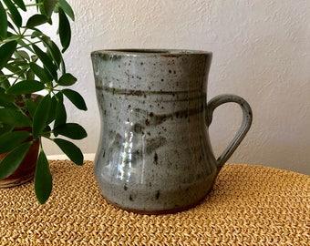 Grey Stoneware Pitcher