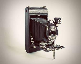 Antique Kodak Camera Original Color Photograph Home Decor Gift Icon