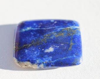 Natural Afghan Lapis Lazuli AAA Quality Fairy Tile for Clarity and Brilliance While You Work