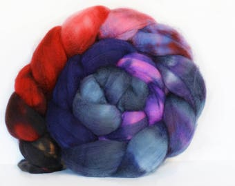 Laoghaire 4 oz Merino softest 19.5 micron Roving Top for spinning
