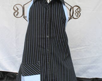Black and Blue Dots Apron