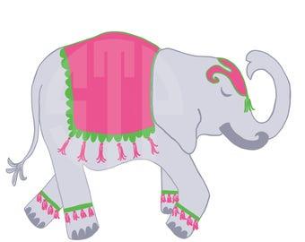 New! Elephant V.1 Clip Art (Instant Download)