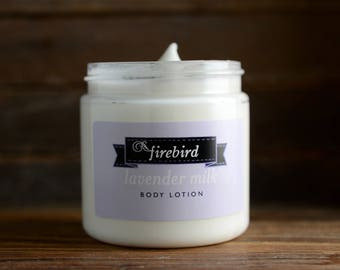 Lavender Milk Body Lotion - Avocado and Shea Butter Lotion