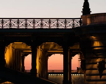 Paris Photography, Sunset Strolls on the Seine, Paris, Autumn in France, Parisian, Paris Wall Art, Sunset, Architecture