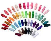 "BUYER PICK 5 Yards Variety Pack : 5/8"" inch FOE Fold Over Lingerie Elastic Baby Headbands Hair Ties"