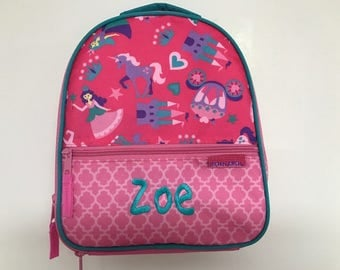 Personalized Stephen Joseph All Over Print Princess Lunchbox