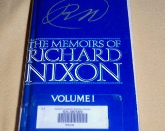 SALE Memoirs of Richard Nixon President Book First printing 1979