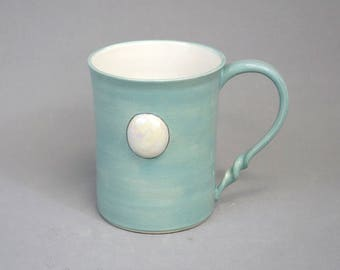 Pearl Mug: Crystal Gem Inspired Steven Universe Ceramic Coffee Mug
