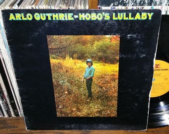 Arlo Guthrie Hobo's Lullaby Vintage Vinyl Record