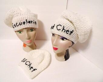 Chef Hat, Baker's Hat, Dishwasher
