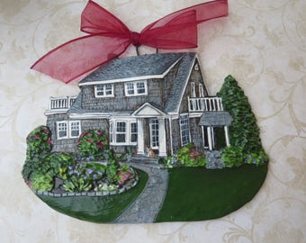 Custom listing for- Tracie.V- one Custom House Ornament