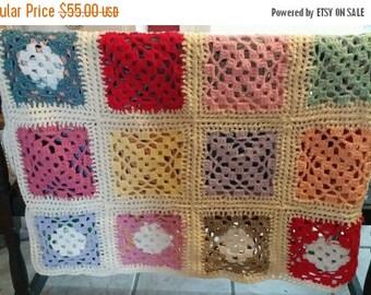 super sale handmade crochet blanket