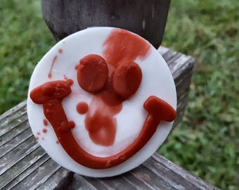 The Creepy Smiley Faces Soap - American Horror Story Cult Inspired - Horror - Novelty Soap - Halloween - AHS - Smiley Face