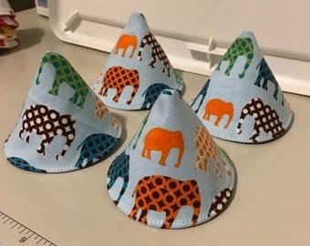 Elephants parade peepeetees