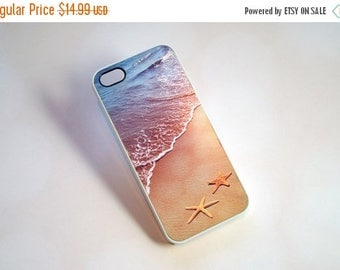 ON SALE iPhone 7 Case, Phone Case, Beach and Starfish Phone Case - nautical, summer