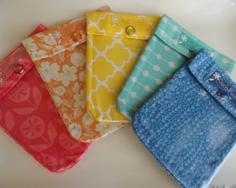 Ouch Pouch Grab Bag (5) Small 4x5 First Aid Organizers for Office School New Mom Diaper Bag Car Purse Travel Christmas Gifts Under 5 each