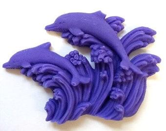 Dolphin Glycerin Soap Favors - shower favors/wedding favors/guest soap/hostess gift -  SET of 10 - BULK pricing