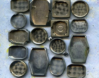 One SET of choice, set of 16 vintage watch parts, steampunk, cool vintage, best prices, 16/3