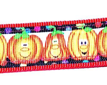 Happy Pumpkins Key Ring Fob