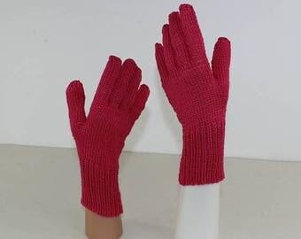 40% OFF SALE madmonkeyknits - Simple Gloves knitting pattern pdf download - Instant Digital File pdf knitting pattern